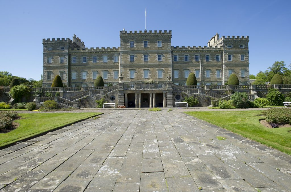 The front of Mellerstain house.
